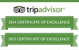 Trip Advisor Award Winning