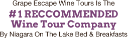 #1 Recommended Wine Tour Company in NOTL