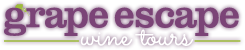 Grape Escape Wine Tours Logo